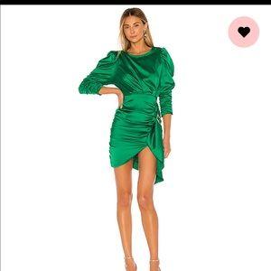 Isbeli Mini Dress in Vert